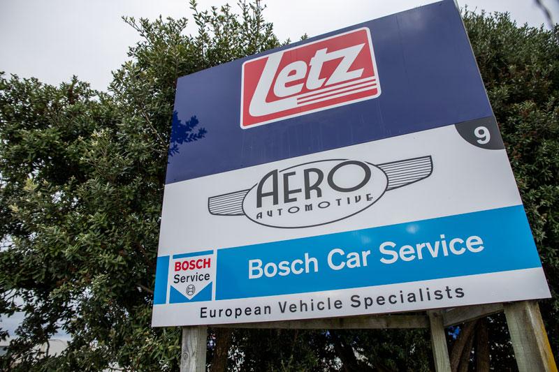Aero Automotive - European Vehicle Specialists Sign