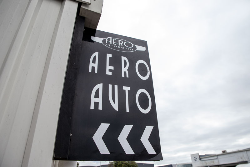 Aero Automotive Sign