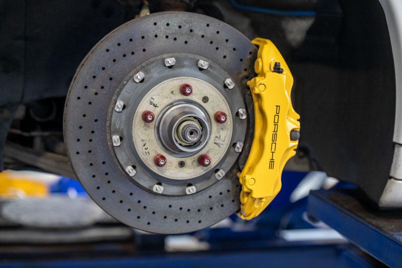 Porsche disk brake