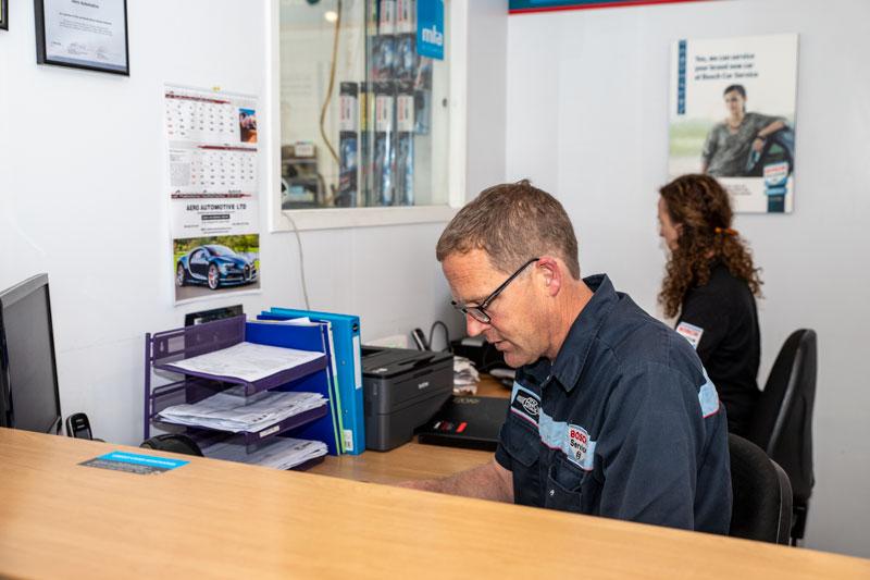 Contact Mechanics at Aero Automotive - Reception